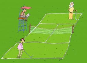 Tennis-Golf