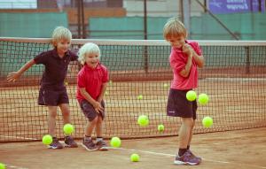 tennisles kinderen